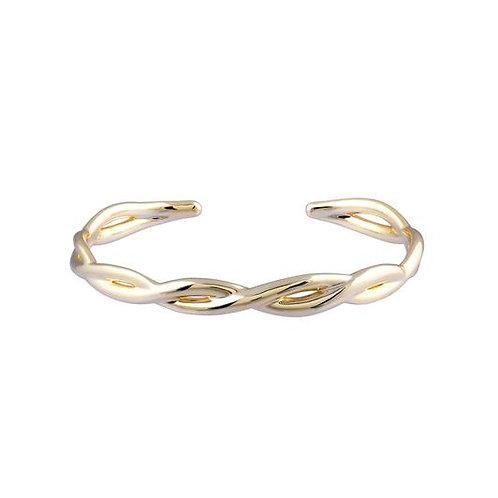 Natalie Wood Designs - Bloom Cuff Bracelet GOLD
