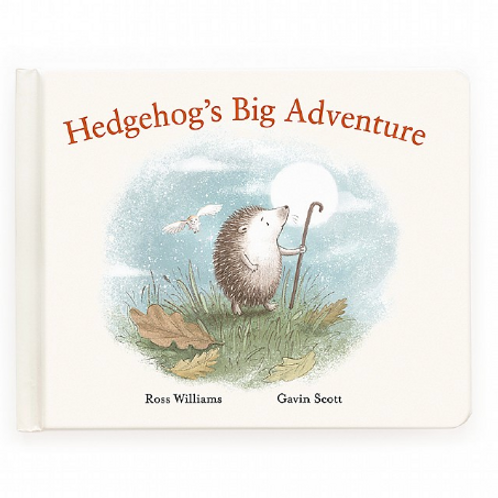 Jelly Cat Hedgehog's Big Adventure