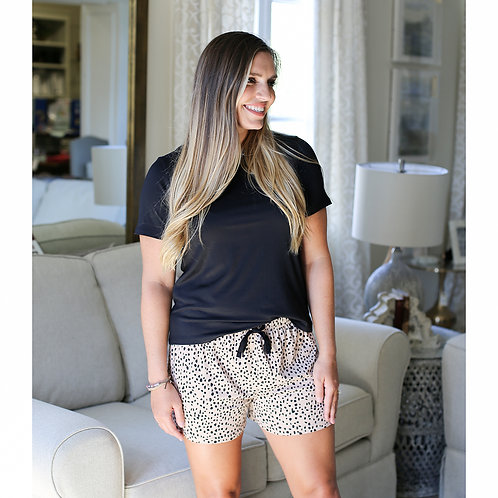 The Royal Standard - Cheetah Sleep Shorts