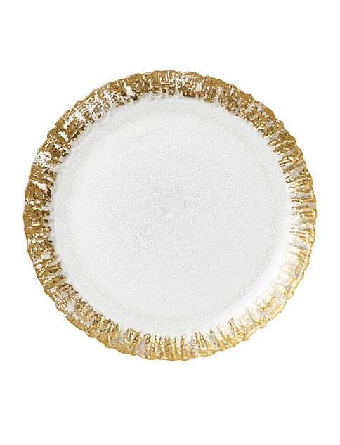 Vietri Rufolo Gold Plate