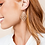 Thumbnail: Natalie Wood Designs - Believer Small Drop Earrings GOLD