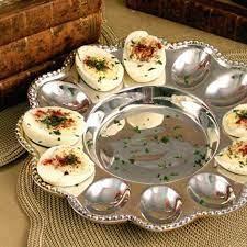 Beatriz Ball Pearl Deviled Egg Platter