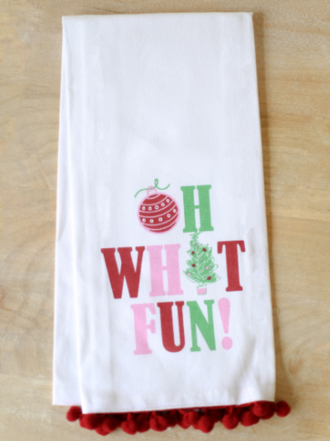 The Royal Standard OH WHAT FUN Hand Towel