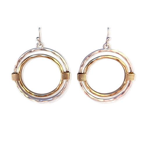 Meghan Browne Overton Silver Earring