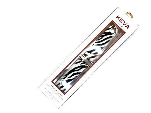 KEVA Zebra Print Watch Band