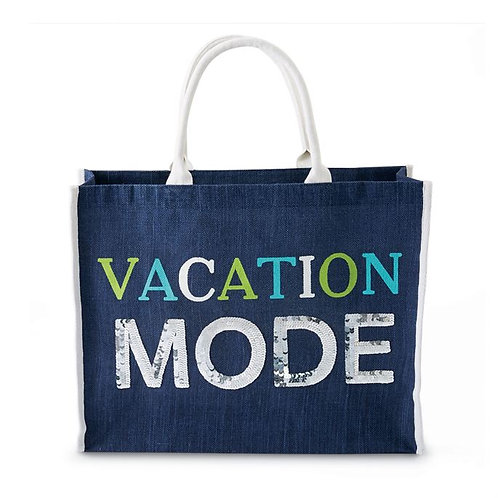 mudpie VACATION MODE TOTE