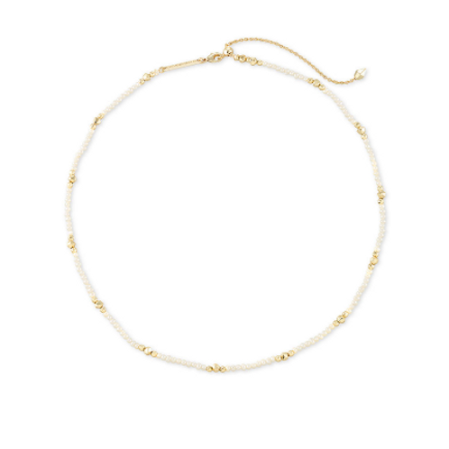 Scarlet Gold Collar Necklace