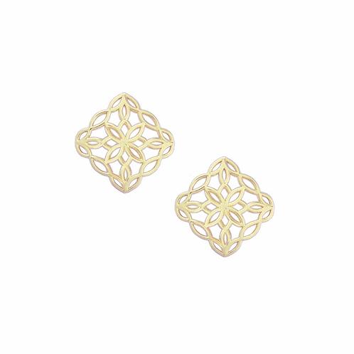 Natalie Wood Designs - Bloom Stud Earrings GOLD