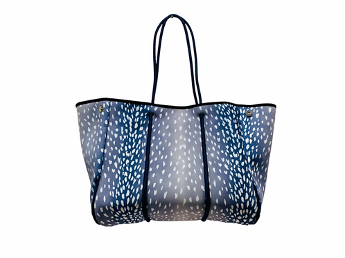Parker & Hyde Navy Fawn Tote