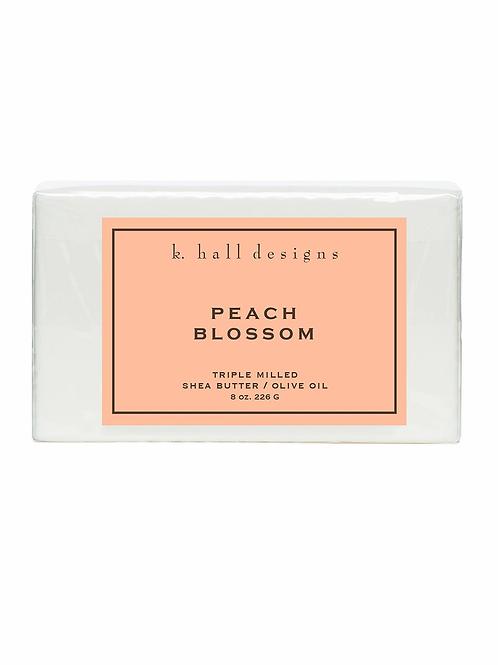 K.HALL PEACH BLOSSOM BAR SOAP