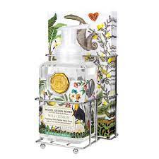 Michel Design Wild Lemon Foaming Soap & Napkin Holder