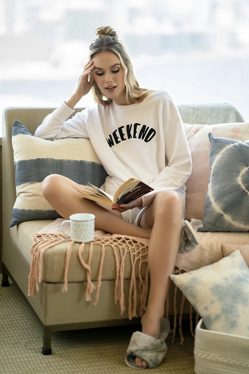 """WEEKEND"" SWEATSHIRT"