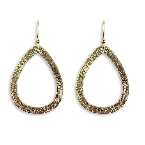 Meghan Browne Sally Goldtone Earring