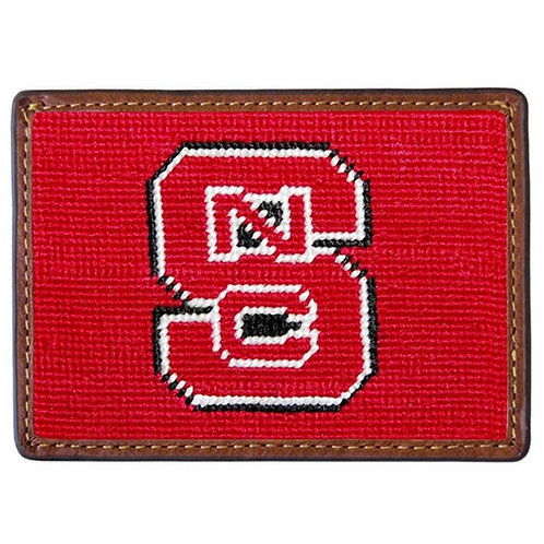 Smathers & Branson - NC State Needlepoint Card Wallet