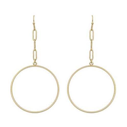 Meghan Browne VENESSA Earring in GOLD