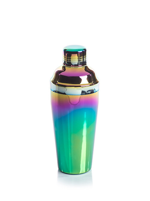 ZODAX Stainless Steel Rainbow Cocktail Shaker