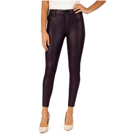 KUT CONNIE HIGH RISE SLIM FIT ANKLE SKINNY (ACAI)