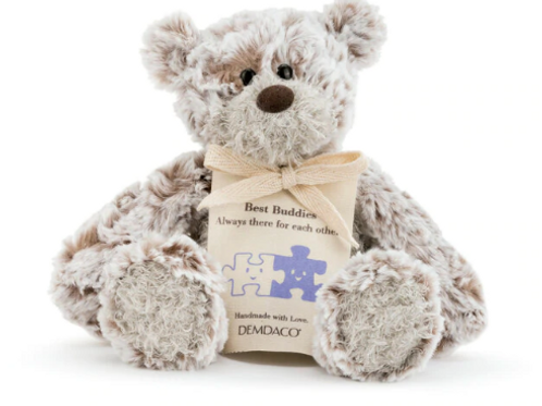 "Mini Giving Bear 8.5"" - Friend - Stuffed Animal"