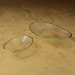 Zodax Gold Rim Bowls
