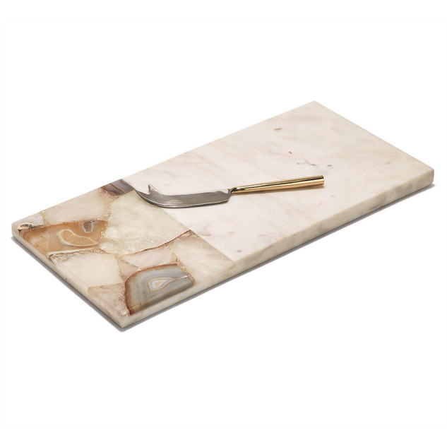 Two's Company Marble Board with Knife.jp