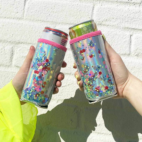 Packed Party THE SKINNY CONFETTI CAN COOLER