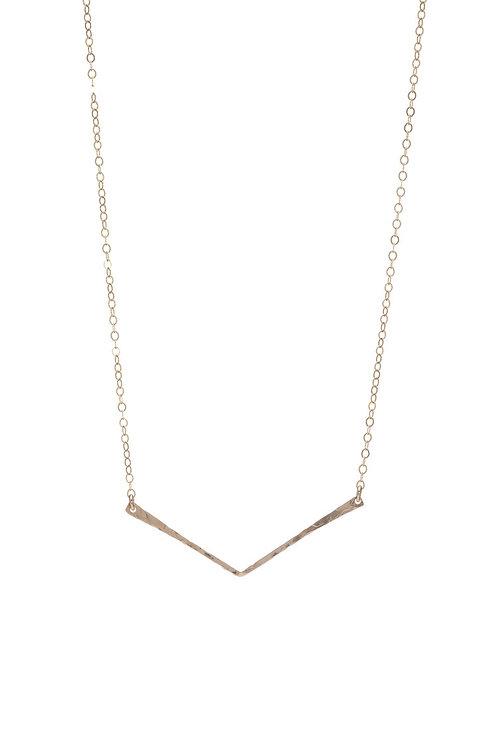 Kenda Kist GOLD V Necklace