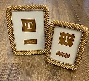 Gold Rope Frames