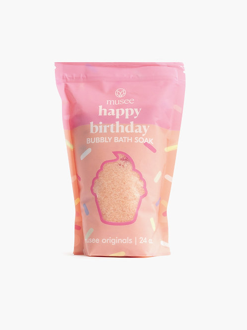 musee -Happy Birthday Bubbly Bath Soak