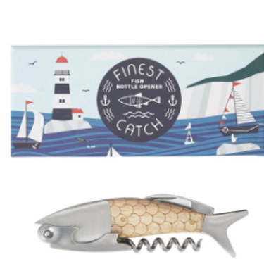 TWO'S COMPANY Finest Catch 3 in 1 Bottle Opener