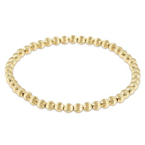 enewton - Dignity Gold 4mm Bead Bracelet