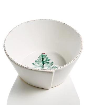 Vietri Lastra Holiday Cereal Bowl