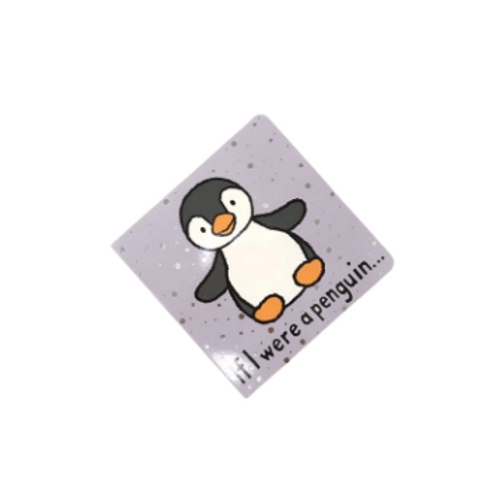 """Jelly Cat Book """"If I were a penguin..."""""""