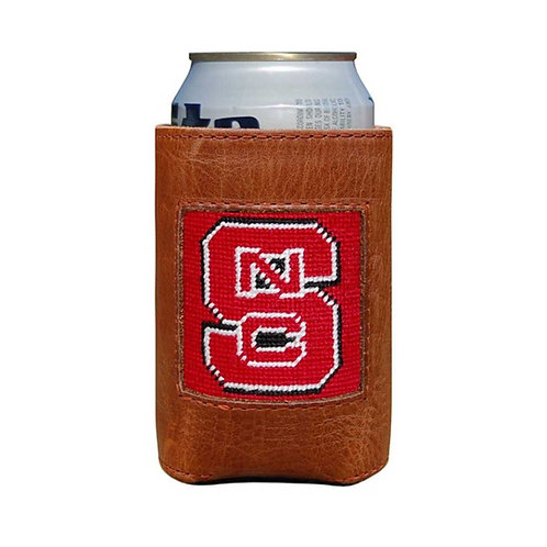 Smathers & Branson - NC State Needlepoint Can Cooler