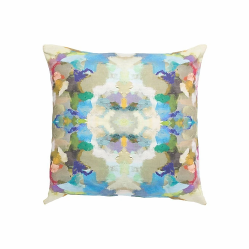 Laura Park Designs INDIGO GIRL BLUE SUNBRELLA® PILLOW