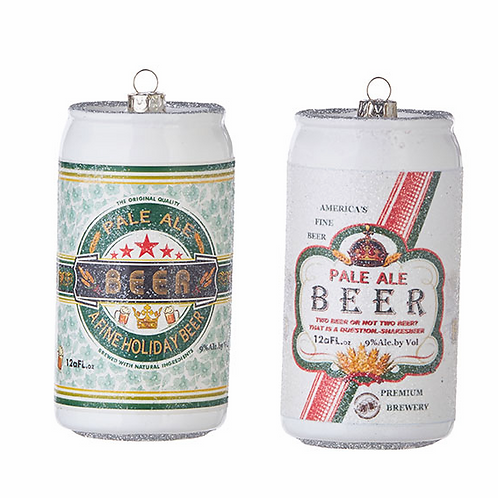RAZ Imports Beer Can ORN