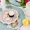 Thumbnail: Laura Park Designs BROOKS AVENUE PINK COCKTAIL PLATES
