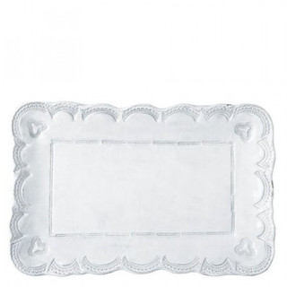 Vietri Incanto Lace Sm Rectangular Platter