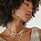 Thumbnail: Kendra Scott Demi Gold Chain Necklace In White Baroque Pearl
