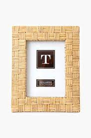 TWO'S CO 5X7 RATTAN FRAME