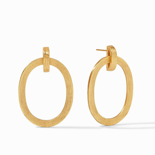 JULIE VOS - Aspen Doorknocker Earring