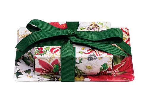 MICHEL DESIGN Merry Christmas Gift Soap Set