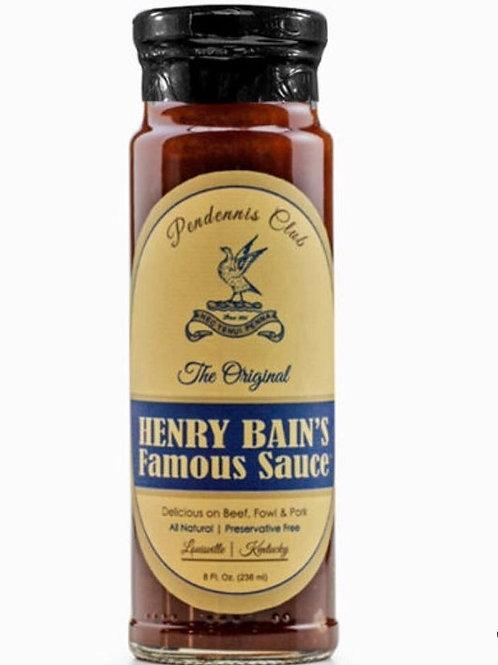 Bourbon Barrel Foods  PENDENNIS CLUB HENRY BAIN'S FAMOUS SAUCE