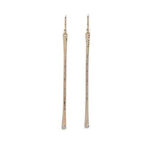 Kenda Kist GOLD Stick Earrings