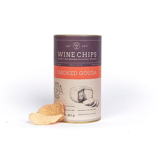 SMOKED GOUDA WINE CHIPS