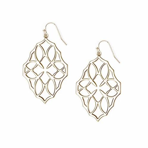 Natalie Wood Designs - Believer Small Drop Earrings GOLD