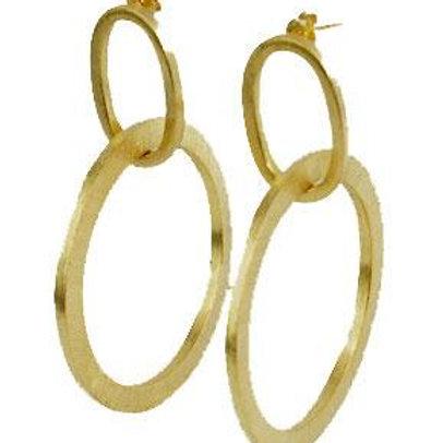 Sheila Fajl Sage Earring in GOLD