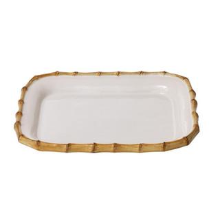 Juliska Classic Bamboo Rect Platter
