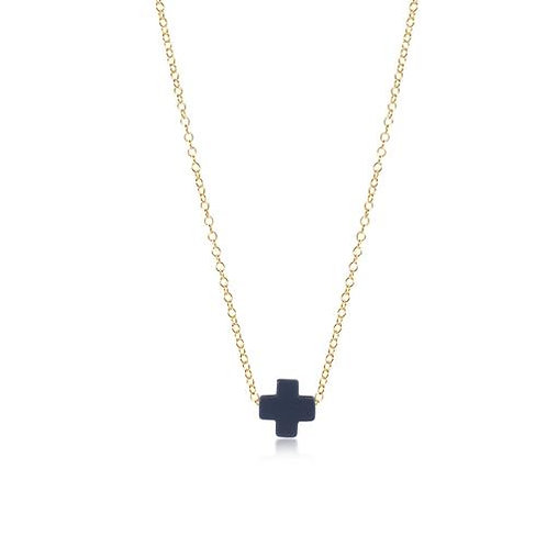 "enewton - 16"" Signature Cross Necklace NAVY"