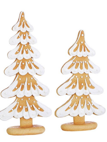 RAZ Imports Kringle Candy Co. SMALL Gingerbread Cookie Tree