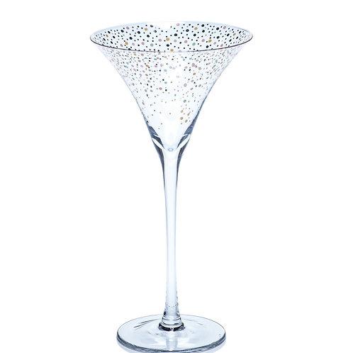 ZODAX Confetti Martini Glass